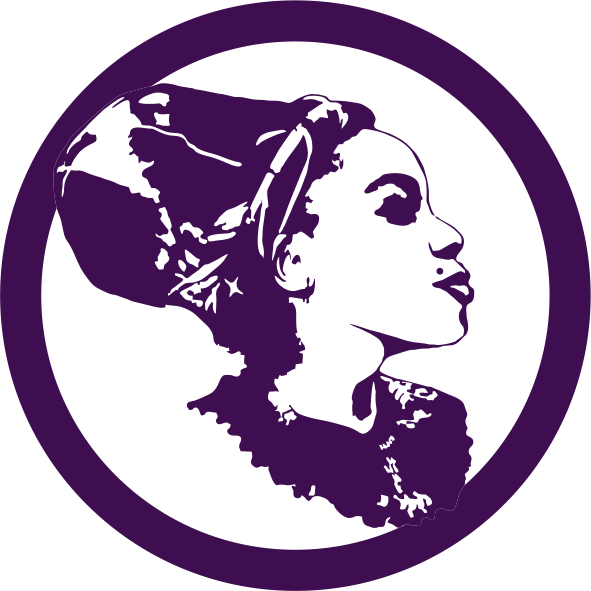DeeVah Icon B – Blk-Ink Studio – Pantone 2627 C