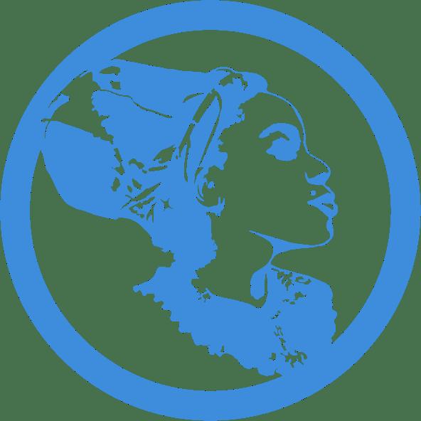 DeeVah Icon B – Blk-Ink Studio – Pantone 279 C