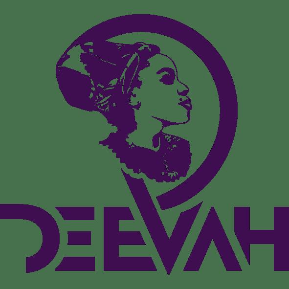 DeeVah Logo – Blk-Ink Studio – Pantone 2627 C