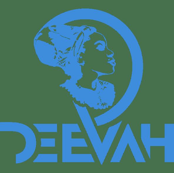DeeVah Logo – Blk-Ink Studio – Pantone 279 C