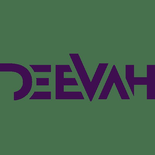 DeeVah Typography Logo – Blk-Ink Studio – Pantone 2627 C