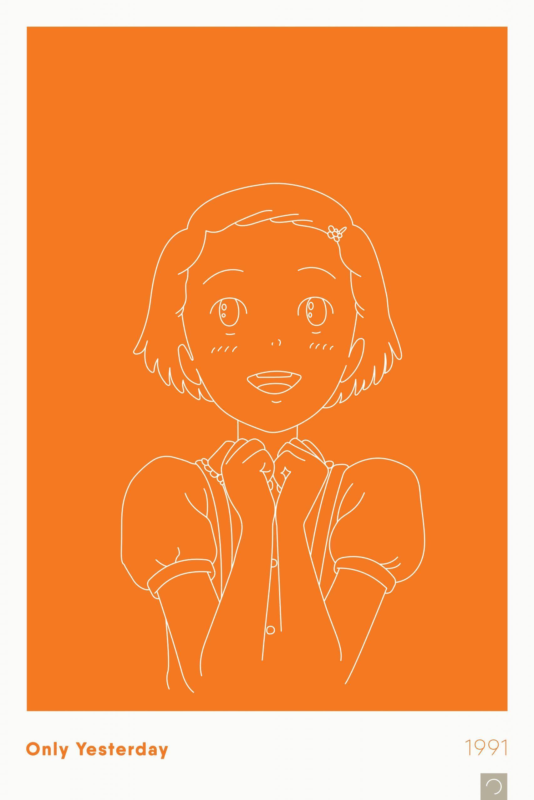 Studio Ghibli – Ontwerp Movie Posters Series – 01 – The Red Turt