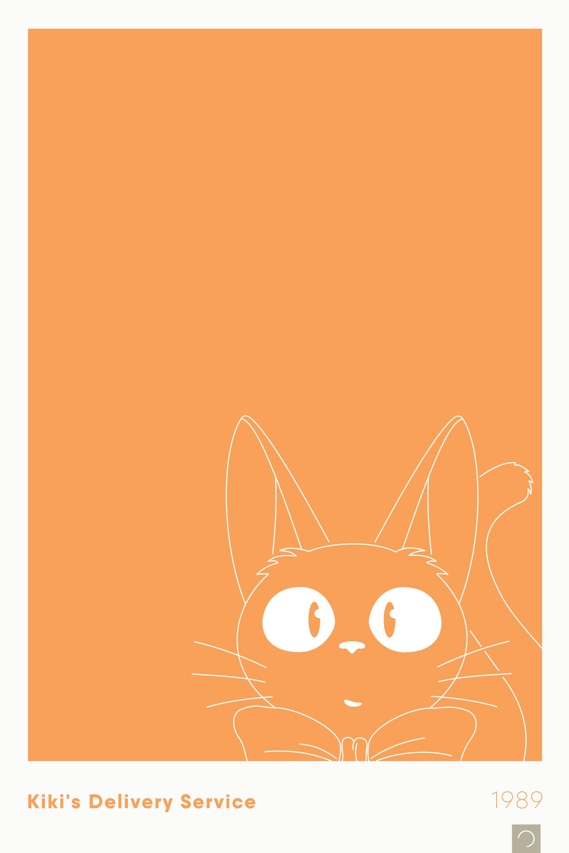 Studio Ghibli – Ontwerp Movie Posters Series – 15 – Kiki's Delivery Service