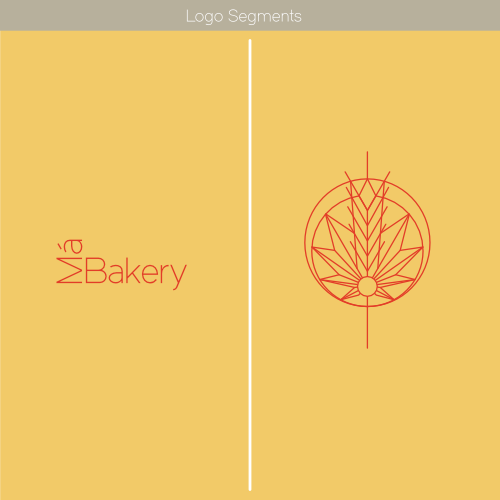 Má Bakery Logo Segments