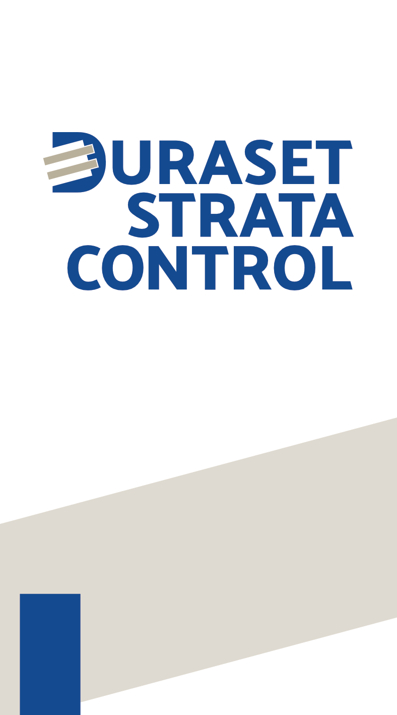 Duraset Strata Control – Business Card – Front