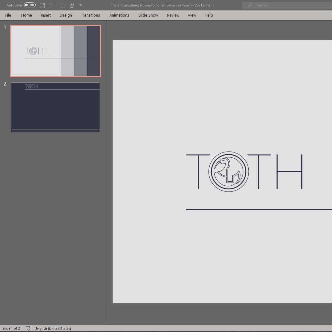 Toth Presentation – Mockup – ontwerp